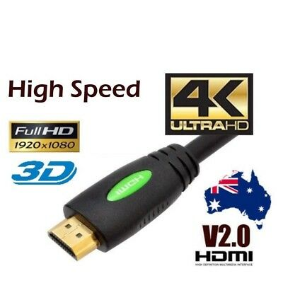 Premium HDMI Cable v2.0 v2.1 Ultra HD 4K 1080p 3D High Speed Ethernet ARC HEC