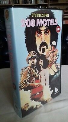 Frank Zappa/Mothers Of Invention 200 MOTELS - VHS Video - Keith Moon Ringo Starr