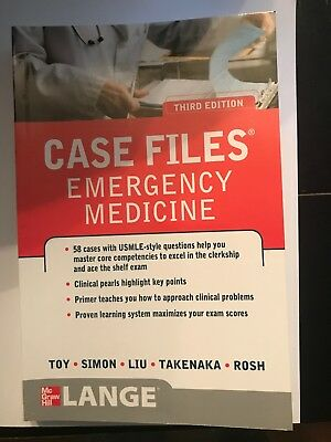 LANGE Case Files: Emergency Medicine by Barry Simon, Terrence H. Liu, Eugene C.