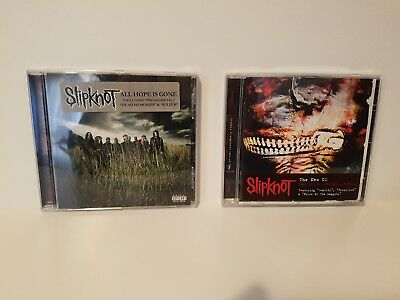 Slipknot - Vol 3: The Subliminal Verses + All Hope Is Gone Lote De 2 Cd Albums