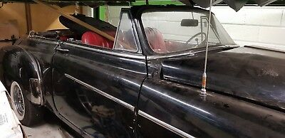 1954 chevrolet styleline convertable classic car unfinished project