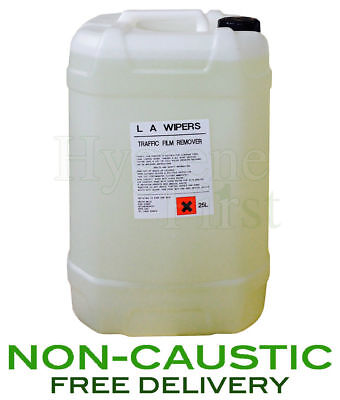 Traffic Film Remover TFR (Non Caustic) - 25 Litre Drum - Car Truck Vehicle 25L