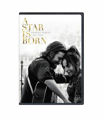 A Star Is Born (2018 DVD) Lady Gaga, Bradley Cooper NEW FREE SHIPPING