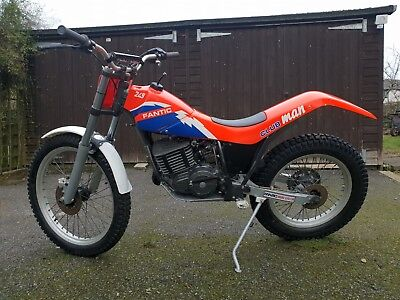 Fantic 249 Clubman Air cooled mono - twin shock trials 240 200 TY