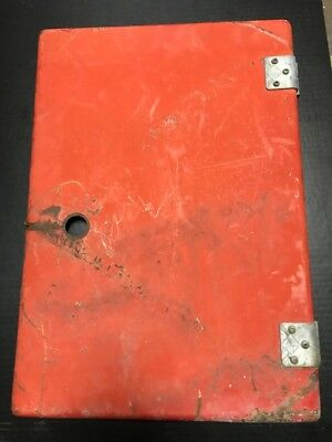 Vintage coca cola coke soda machine door - ESTATE FIND with hinges