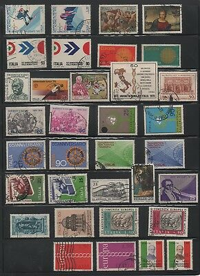Italy, lot of 72 stamps 1970-72