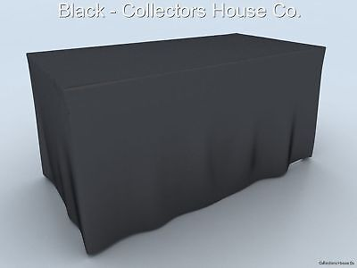 Table Cover 6' For Antique Show, Trade Show Fire Retard