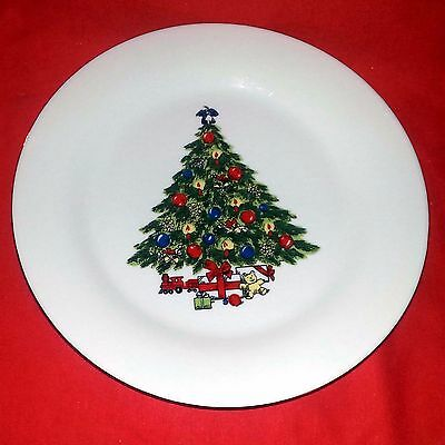 Sea Gull Fine China Jian Shiang - Christmas Tree - Bread & Butter Plate - 7 1/2""