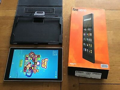 Amazon Kindle Fire HD 10 16GB, Wi-Fi, 10.1in Excellent condition