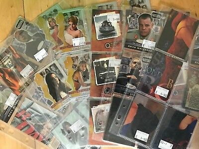 Job Lot Of Inkworks and Rittenhouse James Bond 007 Trading Cards
