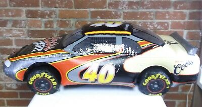 Original Coors Light Beer NASCAR #40 Car Goodyear Advertising Inflatable Sign