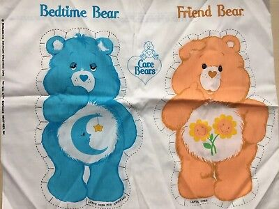 Care Bears Pillow Form Sewing Craft Pattern 6714 Bedtime Bear and Friend Bear