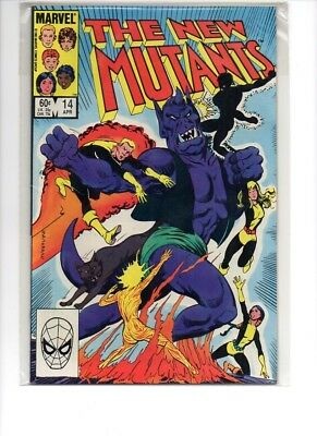 New Mutants #14 First Appearance Magik VF/NM