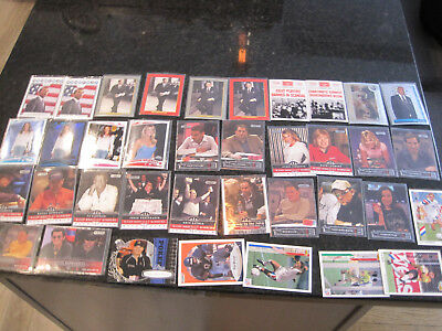 obama/kennedy/reagan/poker 37 card lot free shipping 17 in penny sleeves