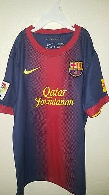 97348366712 FC Barcelona  10 Messi Sz Youth Large 2012-2013 Football Soccer Home Jersey  Nike