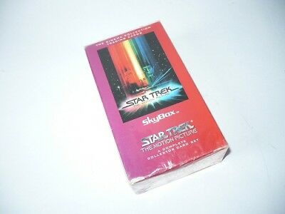 STAR TREK MOTION PICTURE SKYBOX Trading Cards Complete Set Collectables 1994
