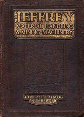 Coal Mining - Rare - 1928 Jeffrey Mining & Material Handling Catalogue - Illust