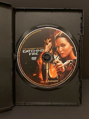 The Hunger Games: Catching Fire DVD Disc Only Unwatched