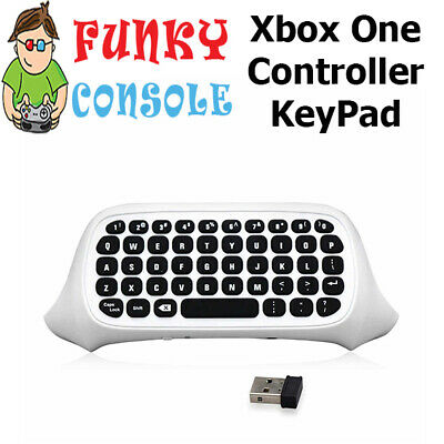 Xbox One Wireless Contoller Clip on Messenger Keypad Keyboard ChatPad