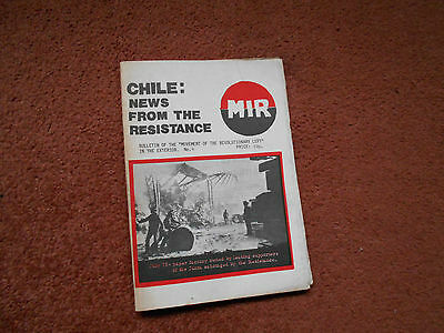 Chile: News  Bulletin of the Movement of the Revolutionary Left No 6 Nov 1975