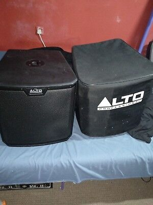 "Alto TS212S 12"" Active Subwoofer with cover DJ band 1st one"