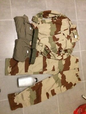 Treillis Désert Camo Armee Airsoft Paintball Chasse Pêche Complet Taille M L 38