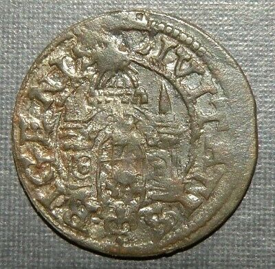 Silver Medieval Coin 1300-1450AD Cathedral Cross Antique Ancient Knight Era Lot