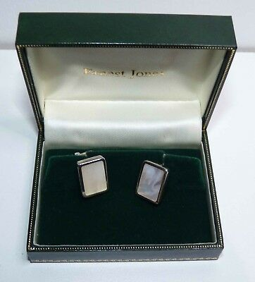 17c356cdd6a0 Brand new in box, Sterling Silver Cufflinks, Mother of Pearl, Ernest Jones