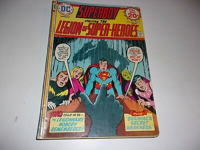 Superboy and Legion of Super-Heroes # 204-Supergirl resigns from Legion--1974--F