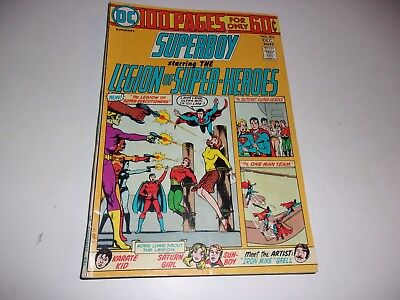 Superboy and Legion of Super-Heroes # 205-100 Page Giant--4 different stories