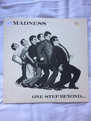 "Madness 'One Step Beyond' 1979 12"" vinyl LP With inner sleeve VGC Album Vintage"