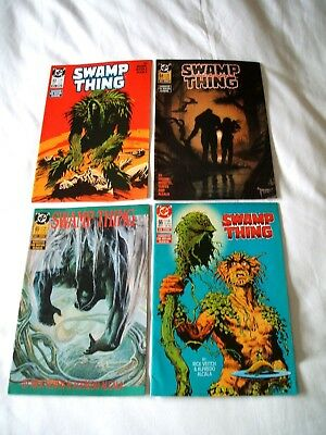 Swamp Thing Comics Dc X 4 Lot Issues 63-66.alan Moore.rick Veitch.