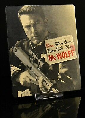 """The Accountant / Mr.Wolff"" Bluray-Steelbook, deutscher Ton"