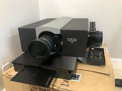 Runco SC-35 Projector With Video processor McKinley anamorphic 2.35 lens sled
