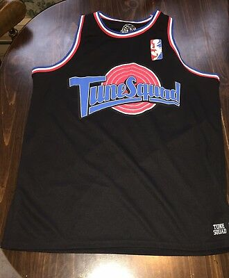 0749ad45d71 Tune Squad Space Jam Bugs  1 Small Black Basketball Jersey Looney Tunes  Bunny
