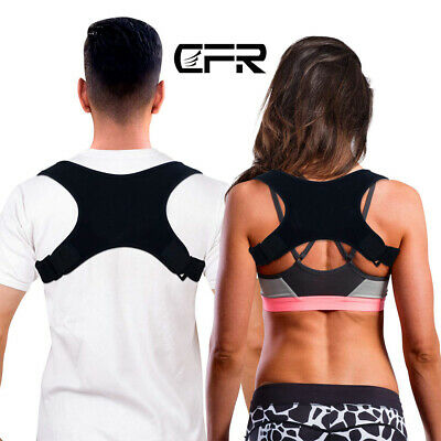 CFR Medical Posture Corrector Back Slouch Support Brace Shoulder Belt Women Men
