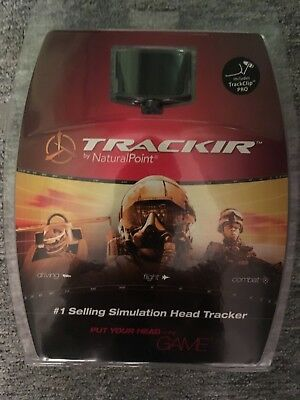 TrackIR 5 with Track Clip Pro only used about 5 times excellent condition