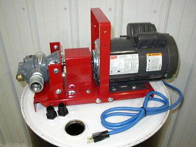 "New Redline Oil Transfer Pump, 3/4 HP, 1"" Ports,16 GPM,Waste Oil Heaters,Burners"