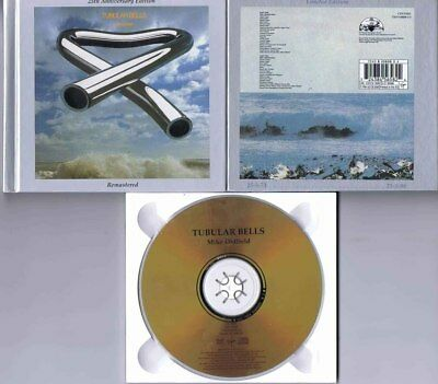 24 Karat Gold Virgin Digibook Cd | Mike Oldfield Tubular Bells