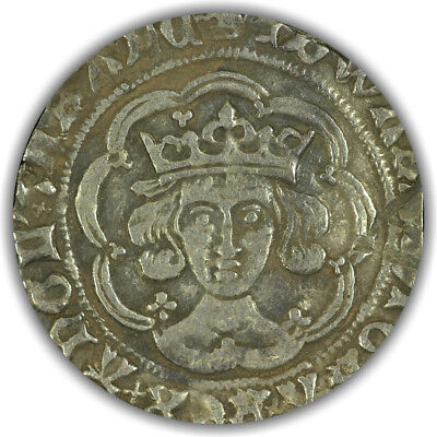 Great Britain. Edward IV. Groat. Very Fine.