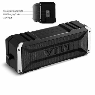 VTIN 20W Bluetooth Wireless Speaker Stereo Super Bass Subwoofer Power Bank
