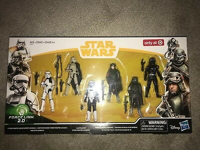 Star Wars Force Link 2.0 Solo Mimban Stormtrooper Target Exclusive 6 Pack Sealed