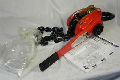 NEW Dayton 5HT16 Hand Lever Chain Hoist 3 Ton Lift 5 ft Fast Ship Rated 77lbs