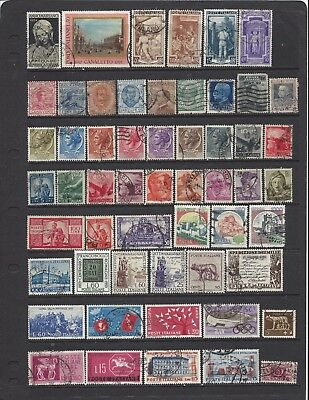 [459] Italy 55 stamps