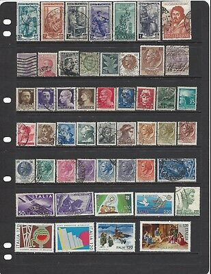 [460] Italy 51 stamps
