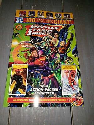 DC Comics 100 Page Giant! Justice League America #7  Walmart EXCLUSIVE SOLD OUT!