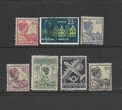 [472] 7 stamps from Curacao