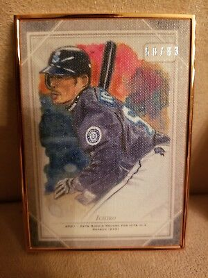 2018 Topps Transcendent Framed Sketch SET BREAK Ichiro Mariners OS-IS 58/83