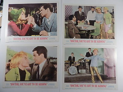 SANDRA DEE, Lobby Card Set 8 Doctor You've Got To Be Kidding '67 George Hamilton