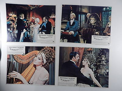 SET Barbra Streisand On A Clear Day You Can See Forever Orig 11x14 US Lobby Card